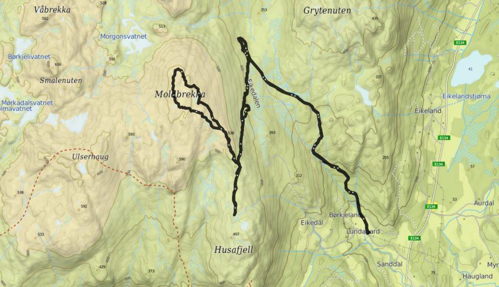 moldbrekka mapa