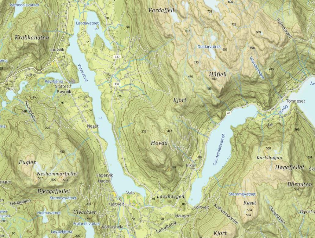 map-hafjell